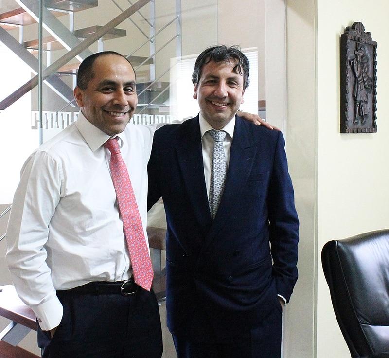 Vladimir Andocilla & Carlos Caro
