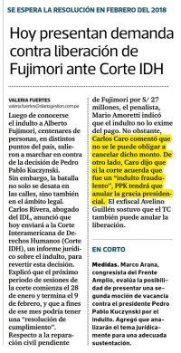 Carlos Caro Opina En Gestión 26.12.17