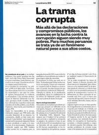 Carlos Caro Comenta En La Revista H (Edición N°75 – Noviembre)