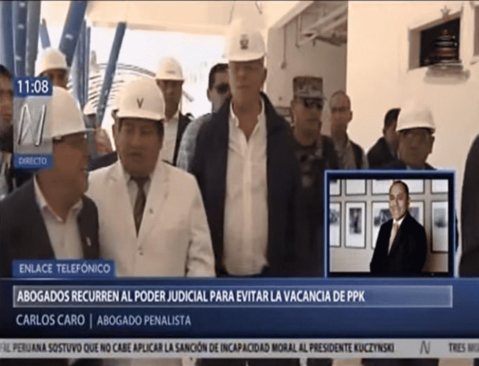 Entrevista A Carlos Caro En Canal N 19.12.17