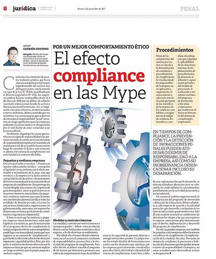 El Efecto Compliance En Las Mypes