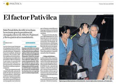 Carlos Caro Refiere En El Comercio 05-01-18