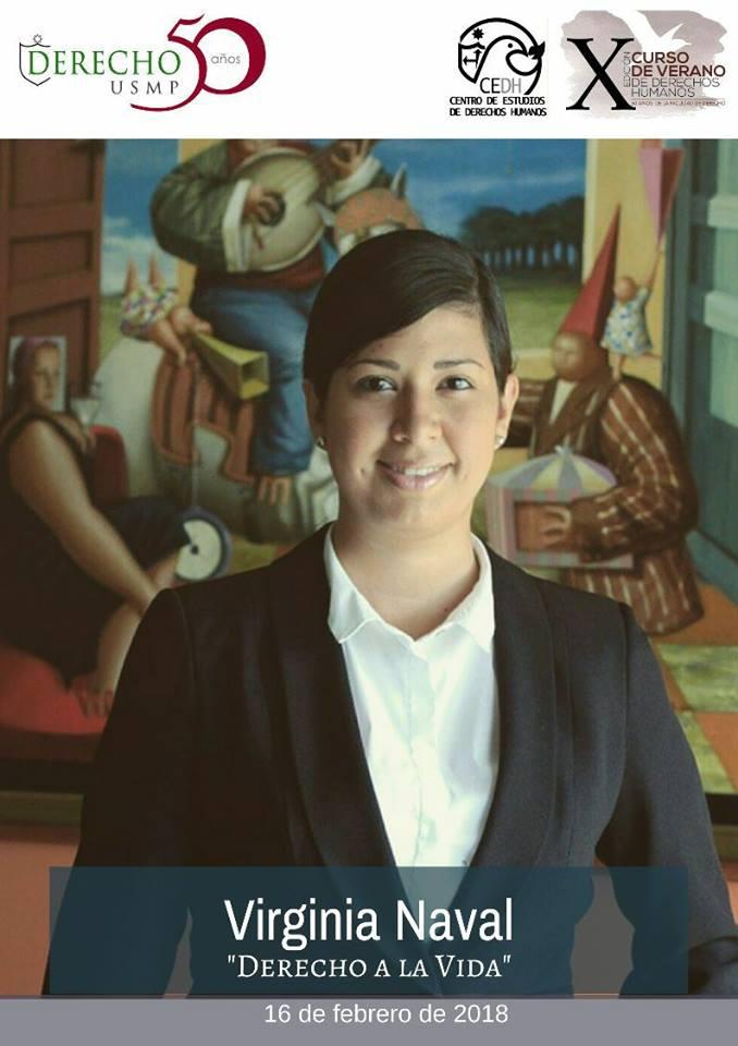 Nuestra Abogada Asociada Y Consultora De Nuestra División De Cumplimiento, Virginia Naval Linares, Expuso 16-02-18