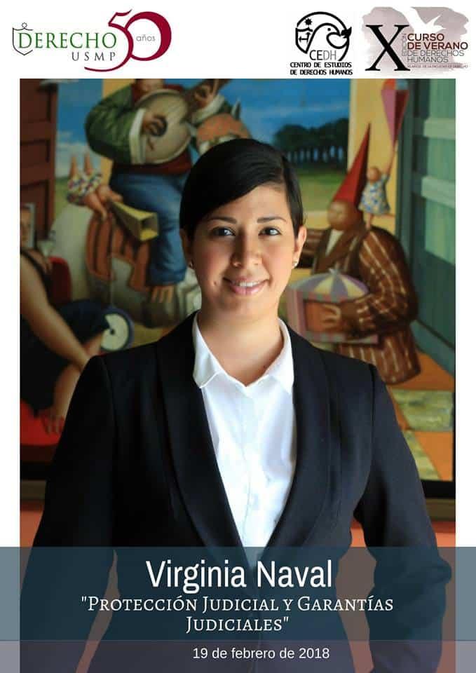 Nuestra Abogada Asociada Y Consultora De La División De Cumplimiento De Nuestra Firma, Virginia Naval Linares, Expuso 20-02-18