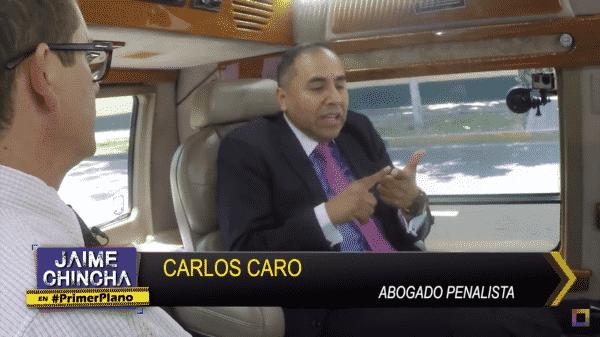 Entrevista A Carlos Caro En Primer Plano 30-01-18