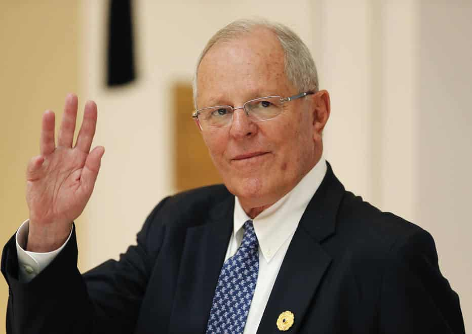 FILE - In This Nov. 11, 2017 File Photo, Peru's President Pedro Pablo Kuczynski Attends The APEC Economic Leaders' Meeting In Danang, Vietnam. Kuczynski Is In Hot Water Over Decade-old Payments He Received As A Consultant To A Brazilian Construction Firm At The Center Of Latin America's Biggest-ever Graft Scandal. (Jorge Silva/Pool Photo Via AP)