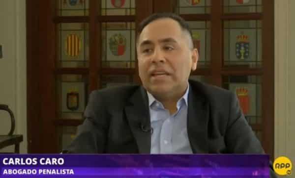 Carlos Caro RPP La Rotativa