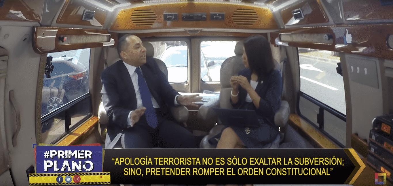 Entrevista A Carlos Caro En Willax TV Sobre El Delito De Apología Al Terrorismo