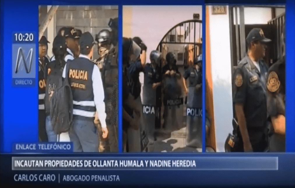Carlos Caro En Canal N – Incautacación De Viviendas A Ollanta Humala Y Nadine Heredia