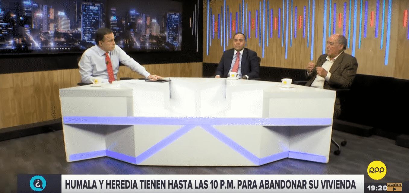 Carlos Tapia Y Carlos Caro Analizan La Situación De Los Humala-Heredia