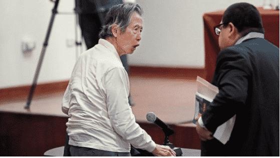 Fujimori Impedimento De Salida