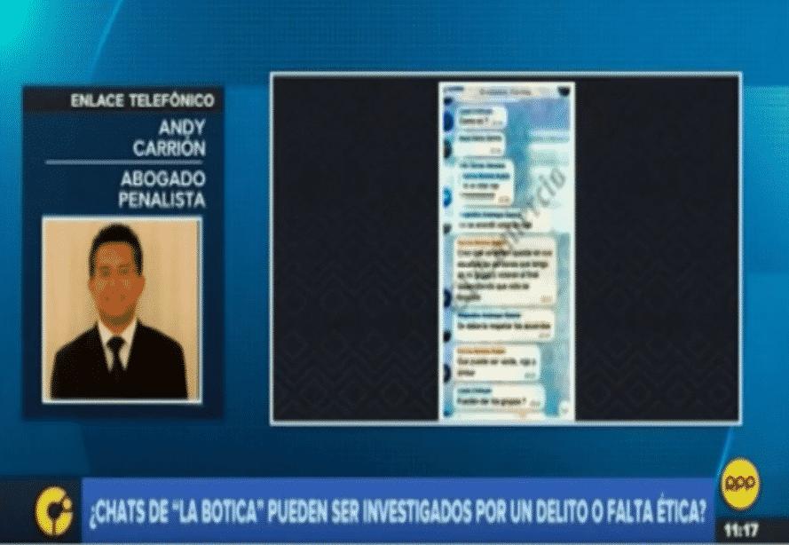 Entrevista AAndy Carriónen Central De Informaciones DeRPP Noticias(30.10.18)