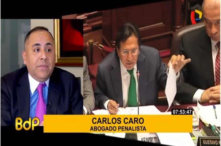 Entrevista ACarlos Caro Coriaen 'Buenos Días Perú' De Panamericana Televisión (15.11.18)