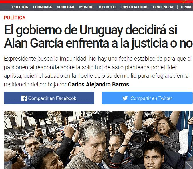 Carlos Caro Coriacomenta En ElDiario La República, (18.11.18)