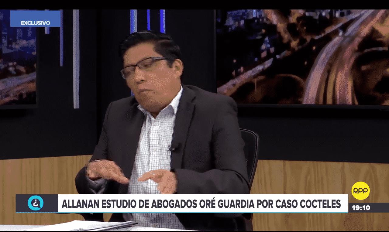 La Opinión DeCarlos Caro Coriaes Citada Por El Ministro De Justicia, Vicente Zeballos En 'Quién Tiene La Razón'