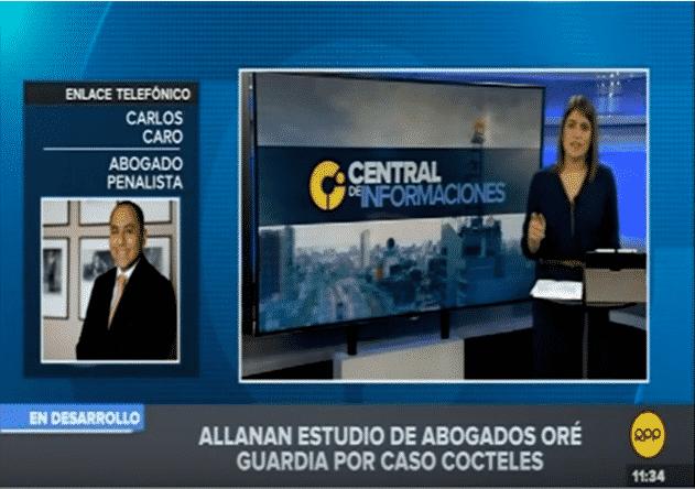 Entrevista ACarlos Caro Coriaen 'Central De Informaciones' DeRPP Noticias(20.11.18)