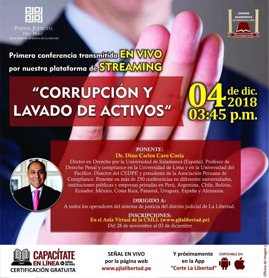 """""""Corrupción Y Lavado De Activos"""""""