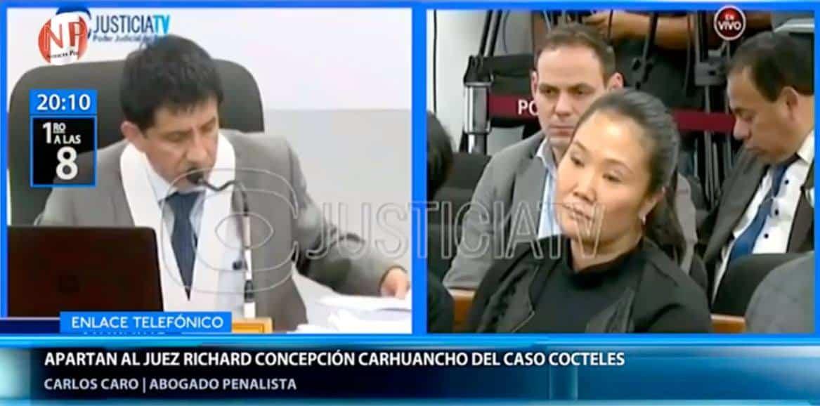 Entrevista ACarlos Caro Coriaen 'Primero A Las 8' DeCanal N(15.01.19),