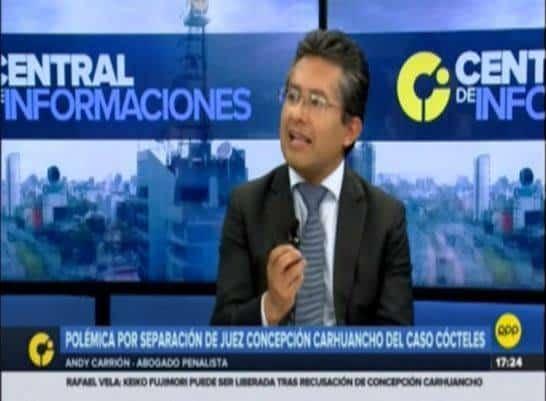 Entrevista AAndy CarriónZenteno En 'Central De Informaciones' DeRPP Noticias(16.01.19)