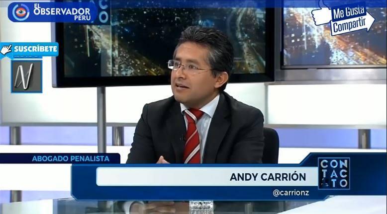 Entrevista AAndy CarriónZenteno En 'Contacto' DeCanal N(18.01.19)
