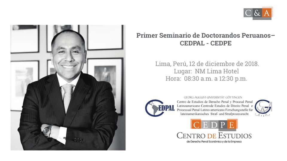 """""""Primer Seminario De Doctorandos Peruanos"""""""