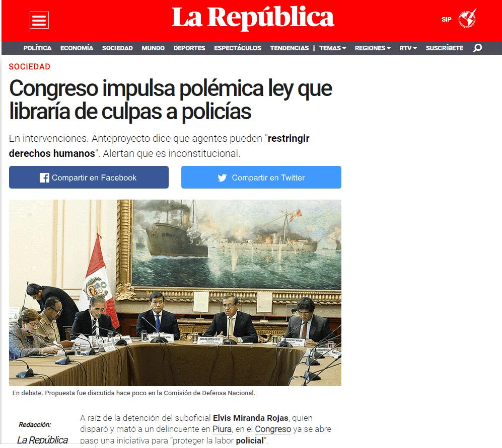 Anteproyecto Del Congreso De La República
