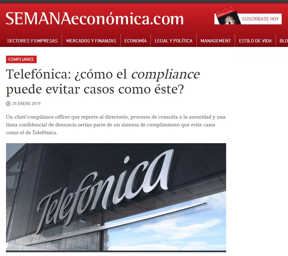 Nuestro CEO,Carlos Caro Coria, Opina EnSEMANAeconómica(25.01.19)