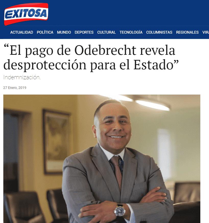 Nuestro CEO,Carlos Caro Coria, Comenta EnExitosa Noticias(27.01.19)
