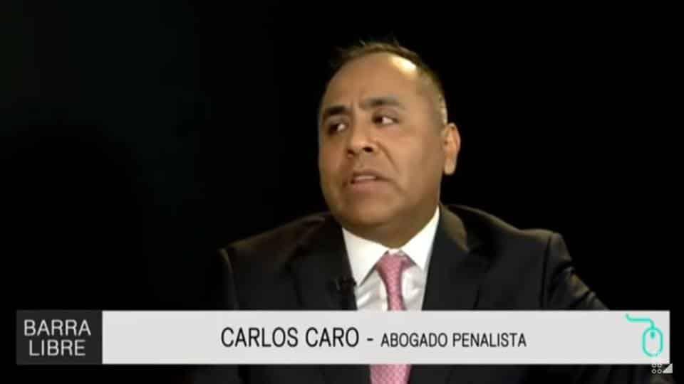 Entrevista ACarlos Caro Coria, En El Programa Código Express / Barra Libre EnLatina Noticias(19.12.18)