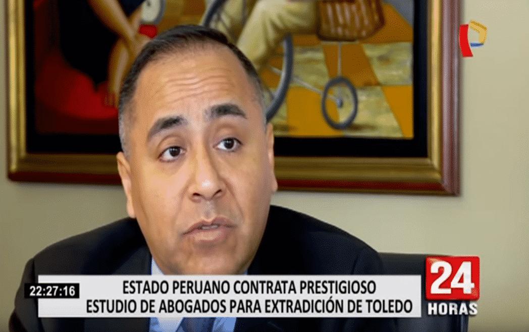 Entrevista a nuestro CEO,Carlos Caro Coria, en '24 Horas' de Panamericana Televisión