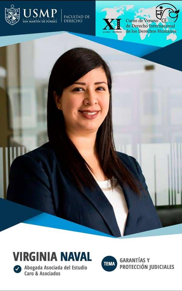 Nuestra abogada asociada,Virginia Naval Linares, participó en XI Curso de Verano de Derecho Internacional de los Derechos Humanos