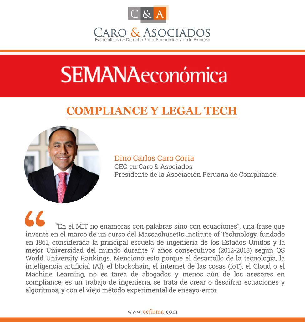 Compliance Y Legal Tech