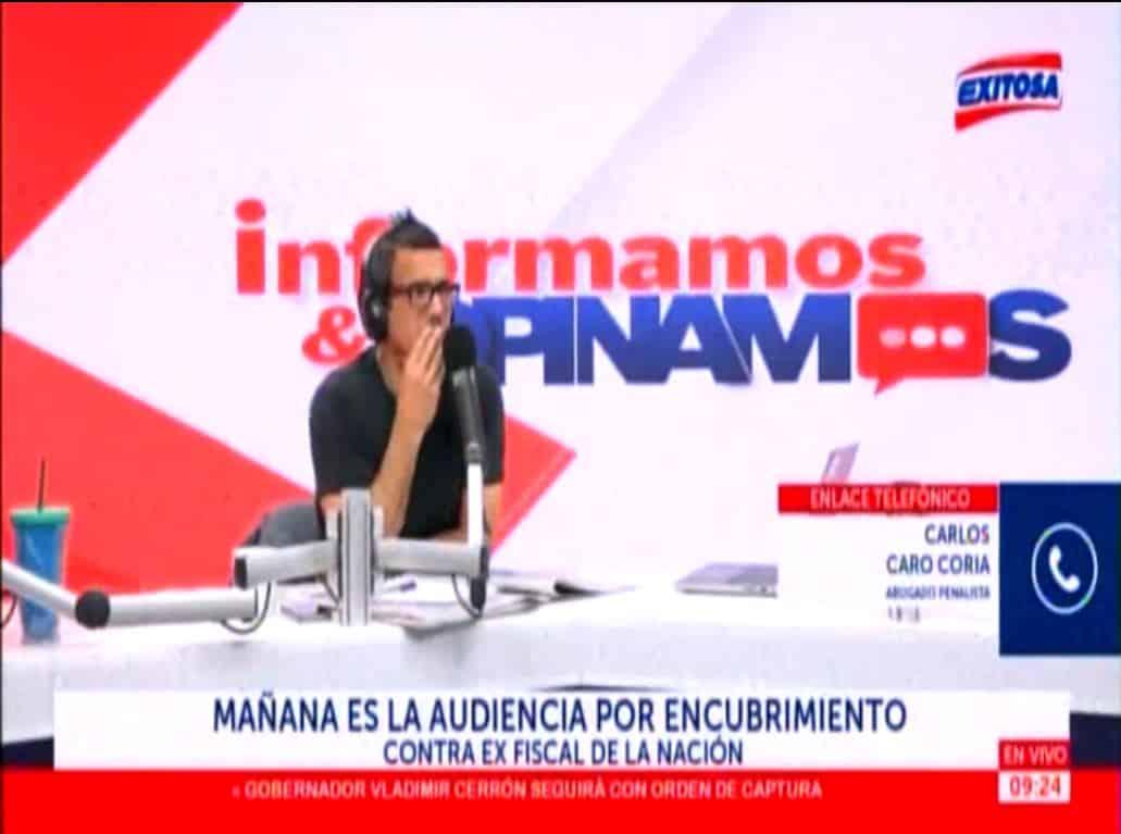 Audiencia Por Encubrimiento Real Contra Fiscal Supremo, Pedro Chávarry Y Las Repercusiones Por La Declaración Del Ex Alcalde De Lima, Luis Castañeda.