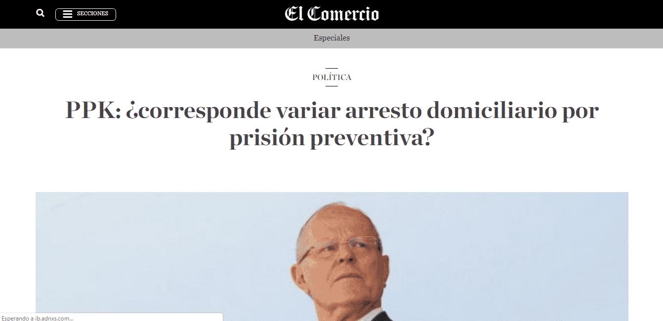 Corresponde O No Que La Medida Restrictiva Contra El Ex Presidente Pedro Pablo Kuczynski, De Arresto Domiciliario, A Prisión Preventiva