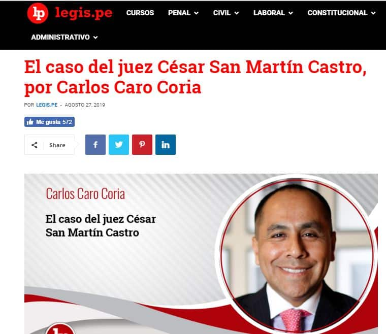 El Fallo Que Archivó La Investigación Al Juez César San Martín, Por Audio Con Walter Ríos.