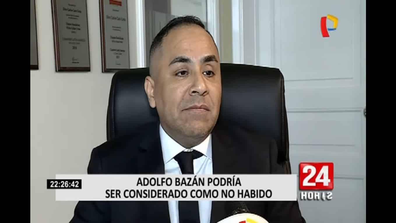 La Posibilidad De Que La Fiscalía Solicite La Prisión Preventiva De Adolfo Bazán, Investigado Por El Delito De Tocamientos Indebidos.