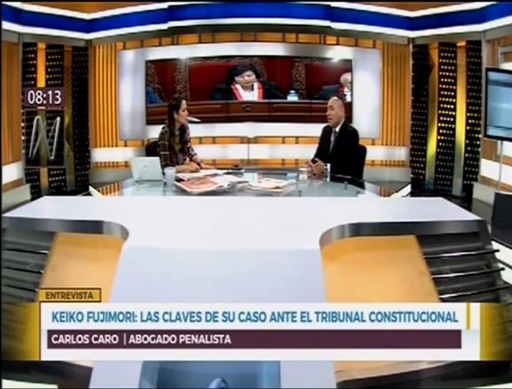 La Audiencia En El Tribunal Constitucional Por El Recurso De Hábeas Corpus Que Busca Revocar La Prisión Preventiva De Keiko Fujimori