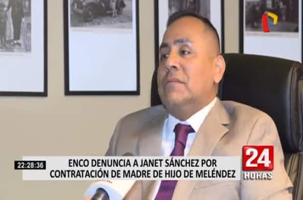 La Denuncia Por Parte Del Procurador Amado Enco, Contra El Ex Ministro Jorge Melendez