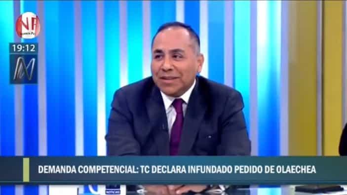 El Análisis De La Demanda Competencial Presentada Por El Titular De La Comisión Permanente, Pedro Olaechea