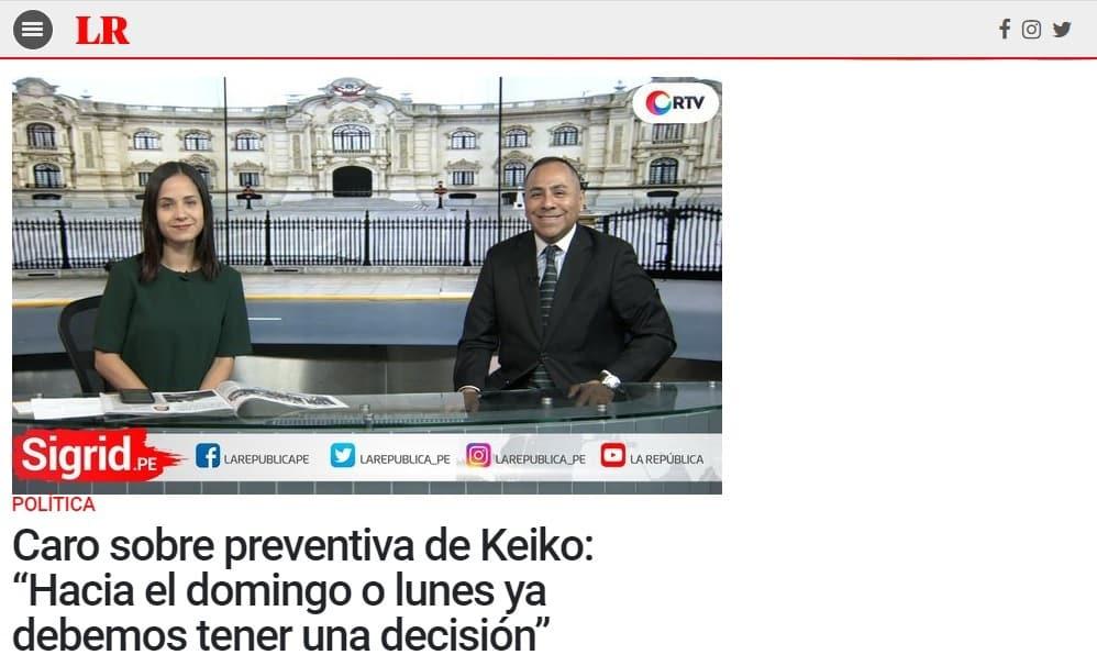 El Pedido De Prisión Preventiva Contra Keiko Fujimori