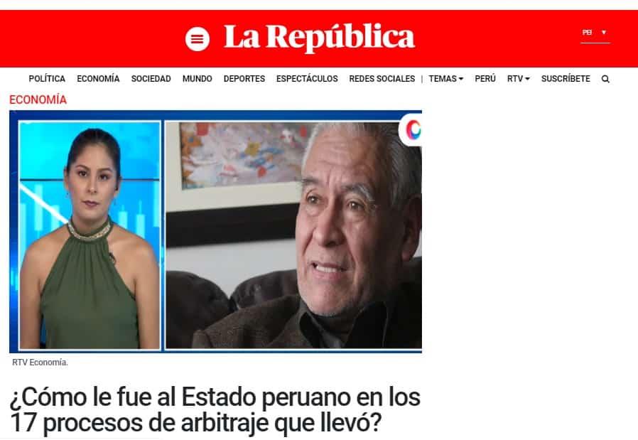La Posibilidad De Que La Empresa Odebrecht Esté Buscando Negociar Con El Estado Peruan, Antes De Demandarlo Ante El Ciadi
