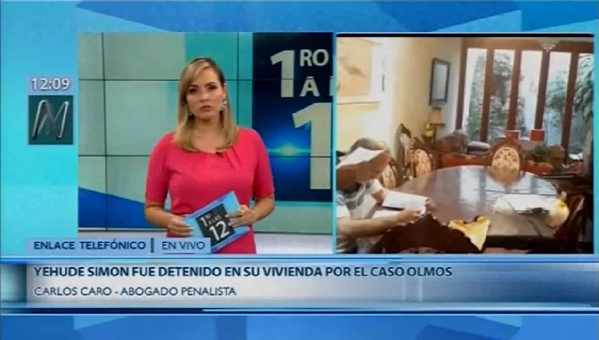 La Detención Preliminar Por 10 Días, Contra Yehude Simon Y Pablo Salazar Torres, Por La Adjudicación A Odebrecht