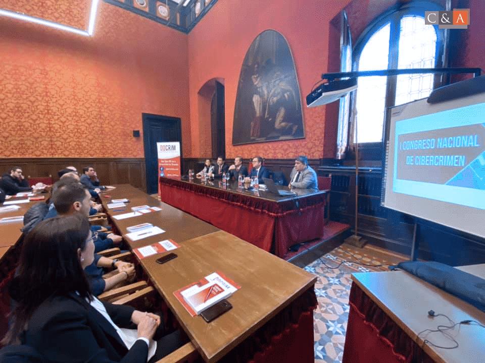 I Congreso De Cibercrimen Organizado Con La Ponencia De Nuestro Abogador Director Luis MIguel Reyna Alfaro