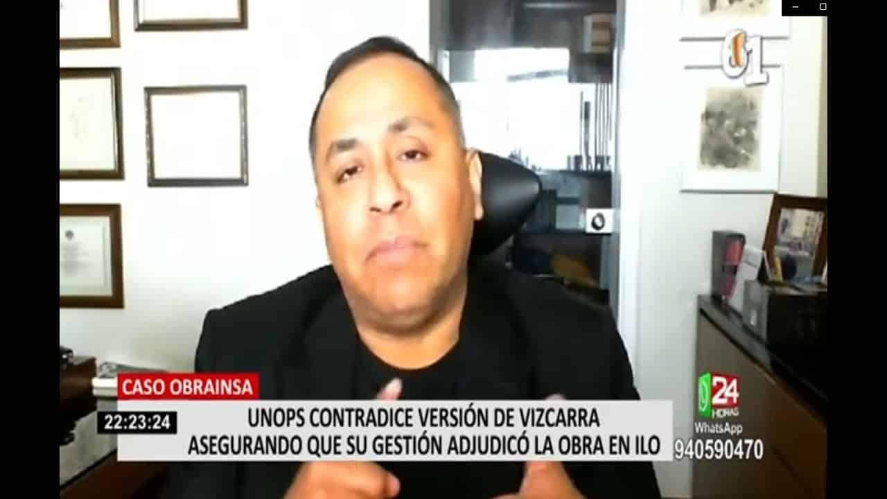 Dino Carlos Caro Coria, Comenta Para Panamericana Televisión (16.10.20)