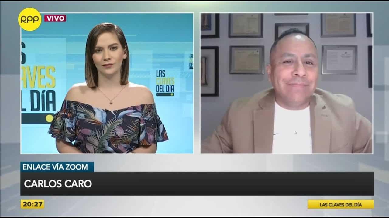 Dino Carlos Caro Coria, Comenta En RPP Noticias (19.10.20) Sobre La Investigación Penal Sobre El Presunto Pago De Obrainsa A Vizcarra.