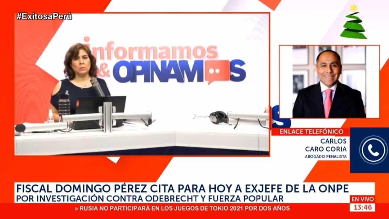 Dino Carlos Caro Coria Comenta En Radio Exitosa (17.12.20)