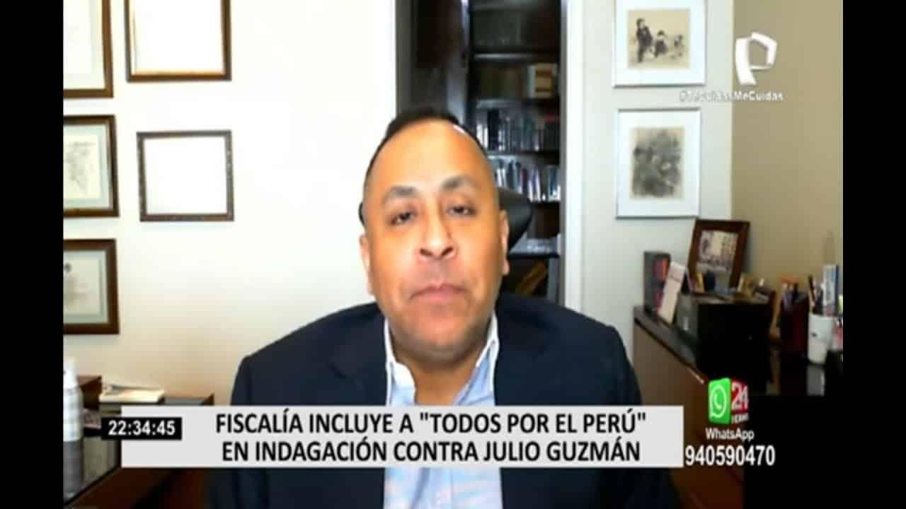 Dino Carlos Caro Coria, comenta para Panamericana Televisión (27.11.20)