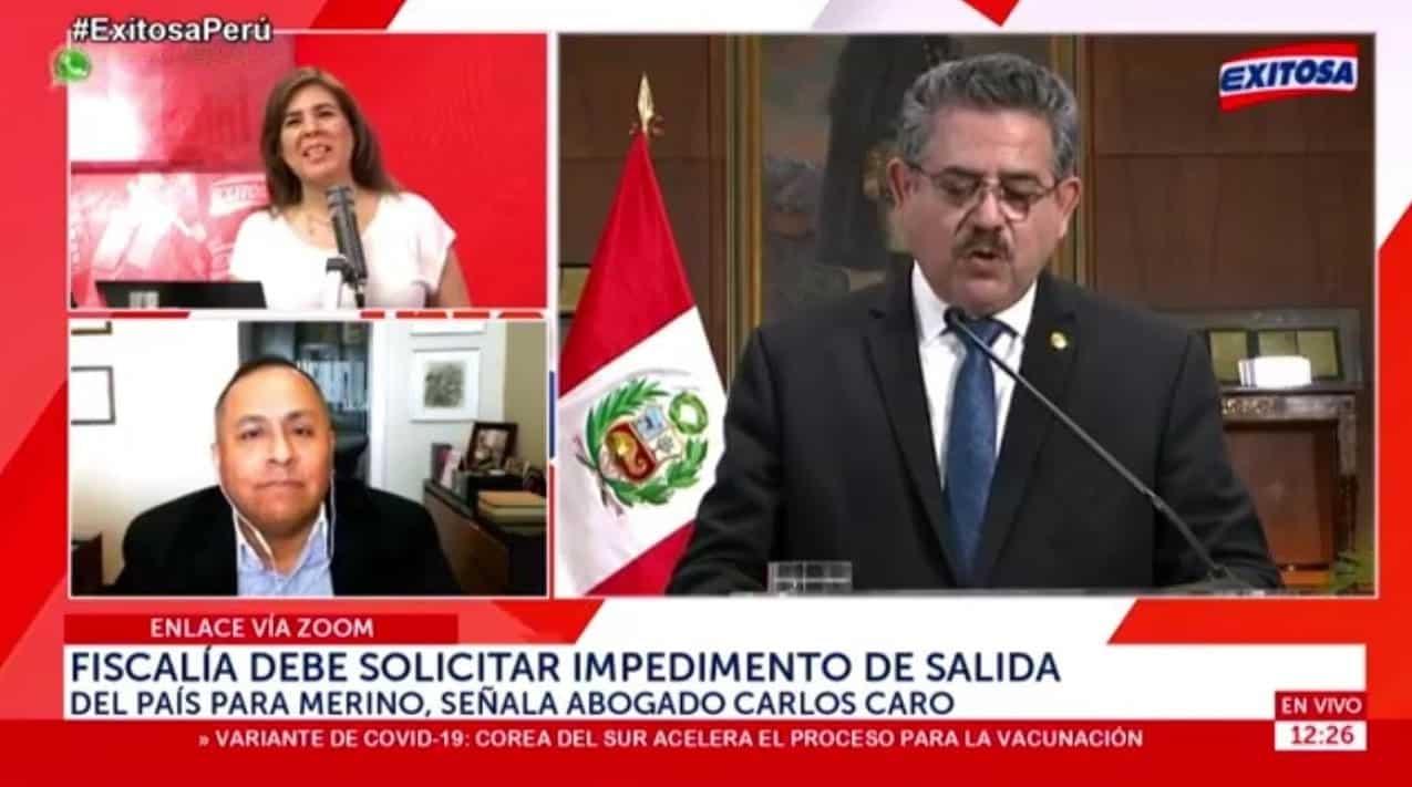 Dino Carlos Caro Coria Comenta En Radio Exitosa (28.12.20)