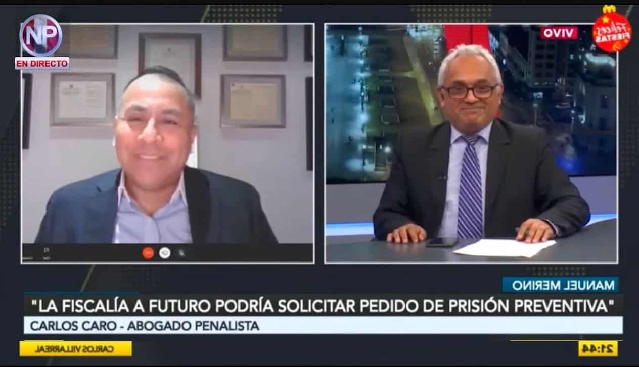 Dino Carlos Caro Coria Comenta Para RPP Noticias (28.12.20)